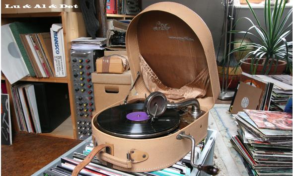 Plattenspiler, Grammofon